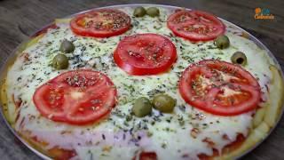 PIZZA SEM MASSA – DIFERENTE E FÁCIL