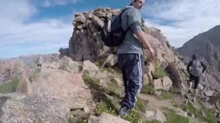 Mt Bierstadt to Mt Evans via the sawtooth - 14ers