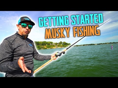 Musky Fishing For Beginners - How To Get Started!