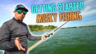 Musky Fishing For Begiฑners - How To Get Started!