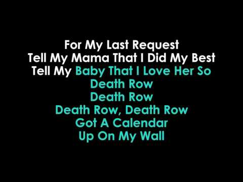 Death Row karaoke Chris Stapleton