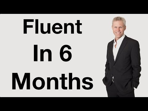 Fluent In 6 Months | English with AJ