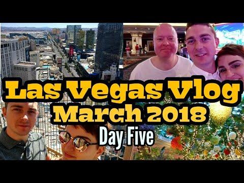 Las Vegas 2018 Vlog Day Five | High Rolling With Matt Bridger | Wynn Buffet | Eiffel Tower