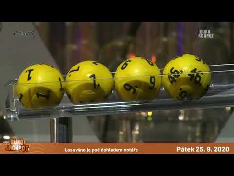 Eurojackpot – 25. 9. 2020