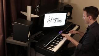 L-O-V-E Jazz Piano Cover by Jonny May Video