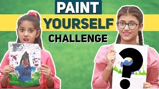 Paint Yourself Challenge | SAMREEN ALI