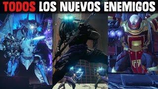Destiny 2 | Todos los enemigos | Nueva facción caída | Caballero con alas