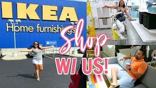 IKEA! SHOP WITH ME! 2018 | COUPLES IKEA SHOPPING VLOG | Page Danielle