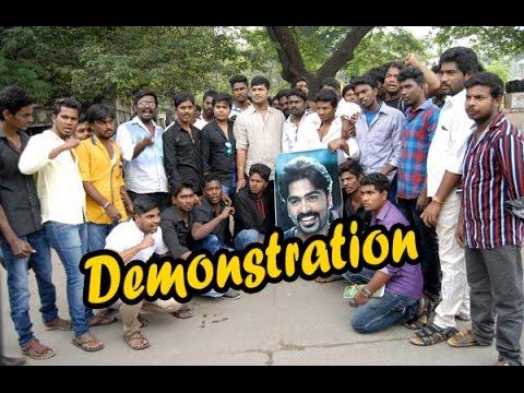 Simbu Fans Sudden Demonstration In Chennai | Beep Song | Simbu - Entertamil.com