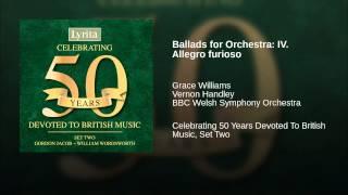Ballads for Orchestra: IV. Allegro furioso