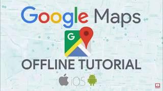 Mapy Google  Offline łatwe w użyciu