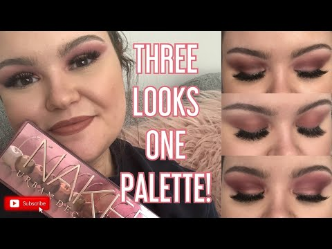 Testing URBAN DECAY Naked Cherry Palette // Makeup TUTORIAL!