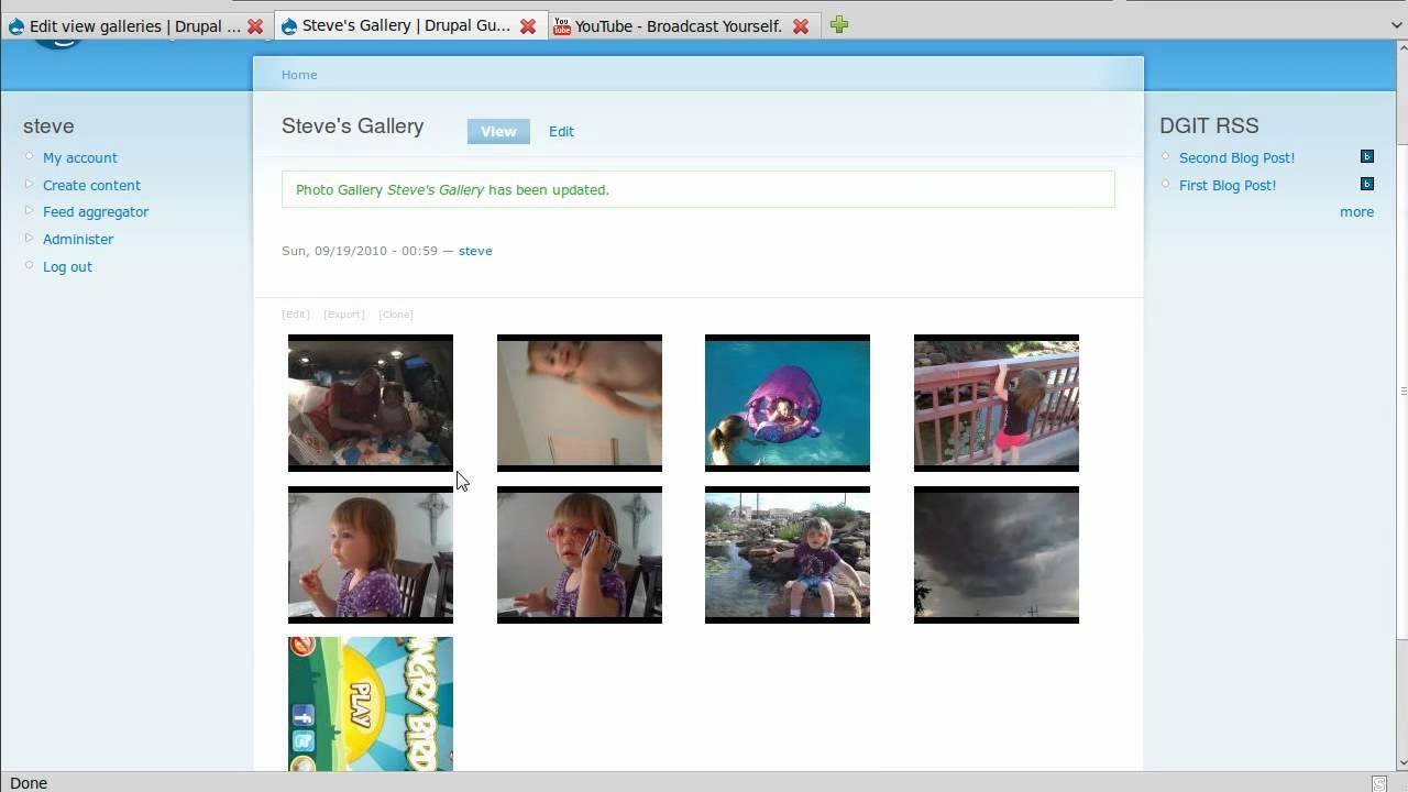 drupal galleries