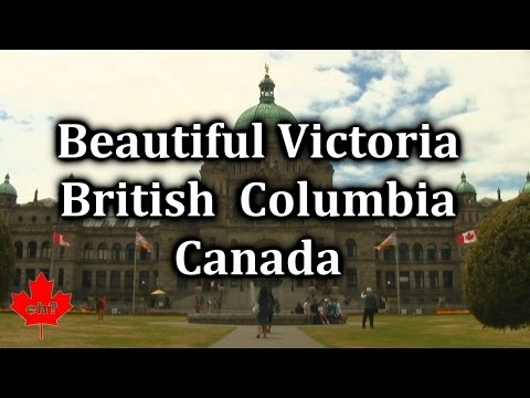 Beautiful Victoria British Columbia Canada