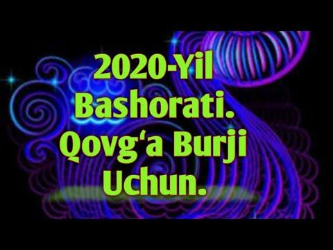 2020-yil bashorati Qovgʻa burji uchun/2020-йил башорати Ковга буржи учун.