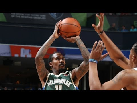 Brandon Jennings Drops Near Triple-Double (16p/8r/12a) in Return to Bucks!