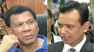 Duterte, Trillanes, magharap sa BPI Julia Vargas branch ngayong araw
