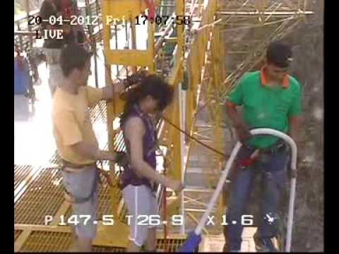 Bungee Jumping @ Jumpin Heights Rishikesh - 83m