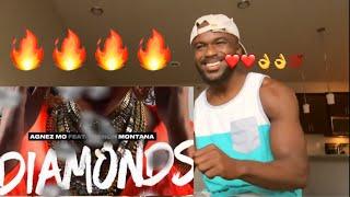 Agnez Mo - Diamonds ft. French Montana [Official Audio]  REACTION
