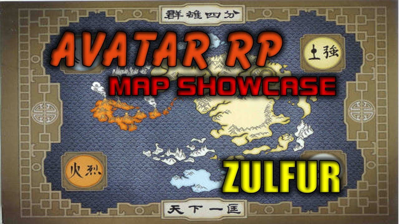 Minecraft Showcasing The Avatar RP Map YouTube - Avatar the last airbender us map
