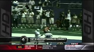 Top 10 Unsportsmanlike Conduct