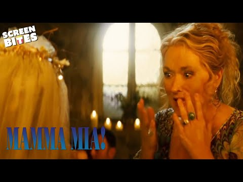Who Is Sophie's Father? (Meryl Street & Pierce Brosnan) | Mamma Mia | SceneScreen