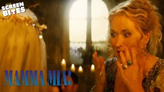 Who Is Sophie's Father? (Meryl Street & Pierce Brosnan)   Mamma Mia   SceneScreen