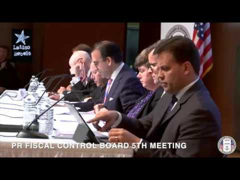 Financial Oversight and Management Board for Puerto Rico (5th Meeting)