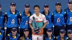 Men's singles trophy presentation | Brisbane International 2019