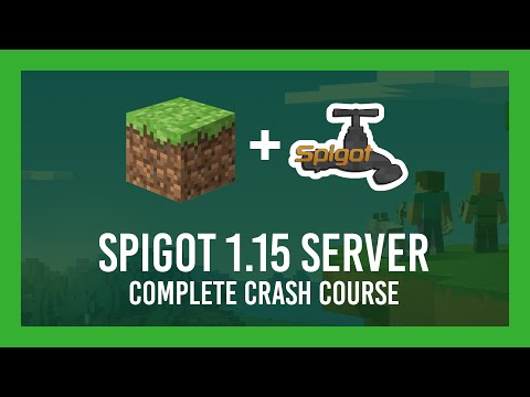 How To Make A Spigot 1.15 Server (Free | +Plugin & Port Forwarding Guide | Getbukkit.org)