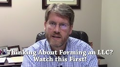 Thinking About Forming a Single Member LLC? Watch this First!