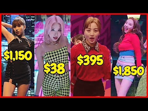 Here Is How Much It Costs To Dress Like TWICE (Fancy MV)