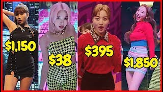 Here is How Much It Costs To Dress Like TWICE