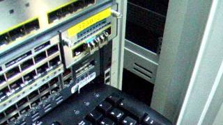 SFP plugged into Cisco Switch