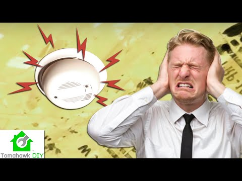 How to Stop a Beeping or Chirping Smoke Alarm