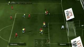 FIFA 09 em Portugues  Exclusive Gameplay   ps3 HD