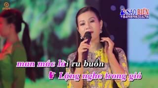 [Karaoke] Gió Đưa Ngan Ngát Hương Dừa - Song ca với Sao biển ✔