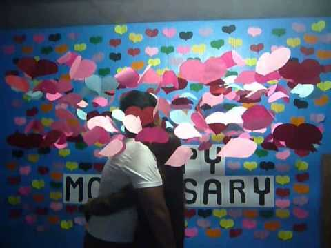simple surprise for monthsary