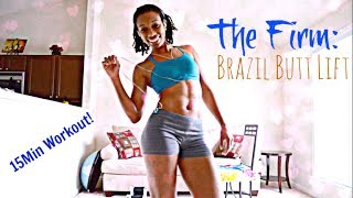 The Firm: BRAZIL BUTT LIFT 15Min Workout I HangTight with MarC