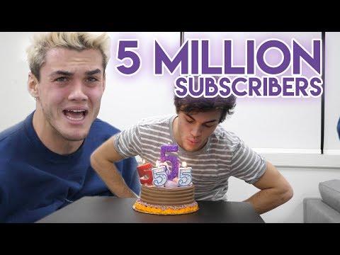 5 MILLION SUBSCRIBERS!?