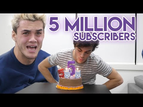5 MILLION SUBSCRIBERS!?