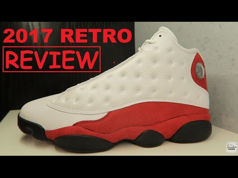 detailed pictures 8889a 141a8 Air Jordan 13 Cherry Chicago 2017 Sneaker REAL HONEST REVIEW