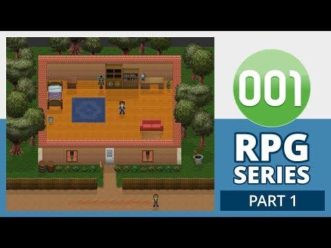 001 Game Creator Tutorial   RPG - Setup (Part 1/5)