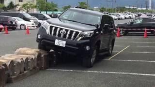 TOYOTA LAND CRUISER (PRADO) TEST DRIVE NO JAPAO