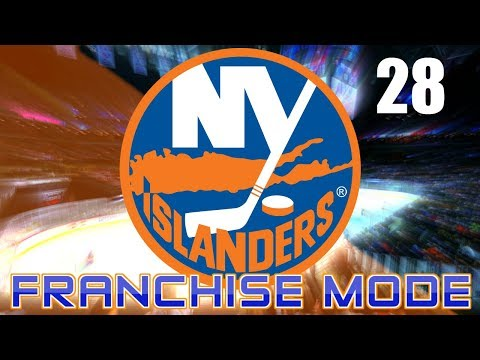 UNLEASHED/2023 PLAYOFFS - NHL 18 New York Islanders Franchise Mode Ep.28
