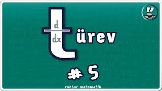 TÜREV 5  Bebek Adımları   Rehber Matematik bebekadımları