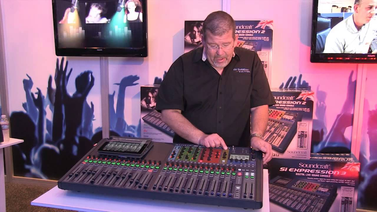 soundcraft si expression digital mixer review youtube. Black Bedroom Furniture Sets. Home Design Ideas