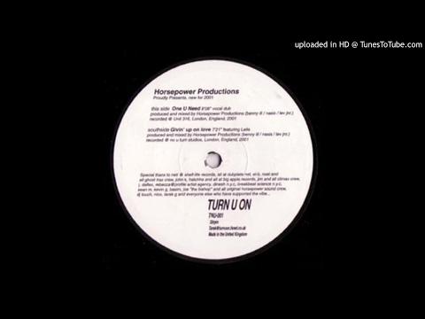 Horsepower Productions - One U Need (2001)
