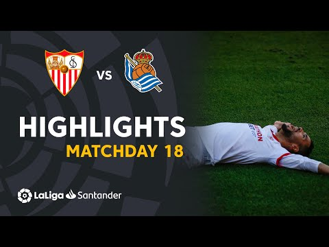 Sevilla Real Sociedad Goals And Highlights