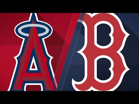 6/25/17: Bridwell, Cowart propel Angels past Red Sox